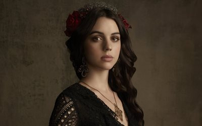 reign, adelaide kane, series, australian actress, kingdom, mary stuart