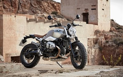 motorcycle, scrambler, bmw