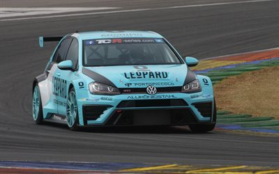 racing car, track magny-cours, golf, france, volkswagen, gti tcr