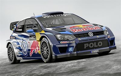 rally hatchback, volkswagen, polo, r wrc