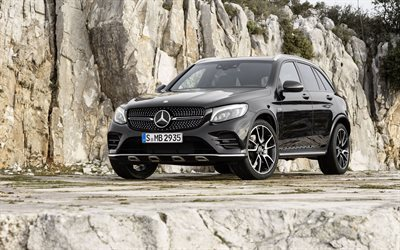 all-wheel drive crossover, concept, mercedes-benz, amg, glc43 4matic