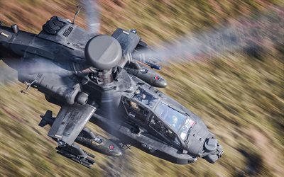 attack helicopter, apache, ah-64