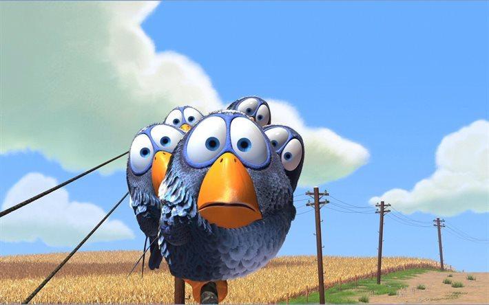 Scarica sfondi pixar su uccelli cartone animato