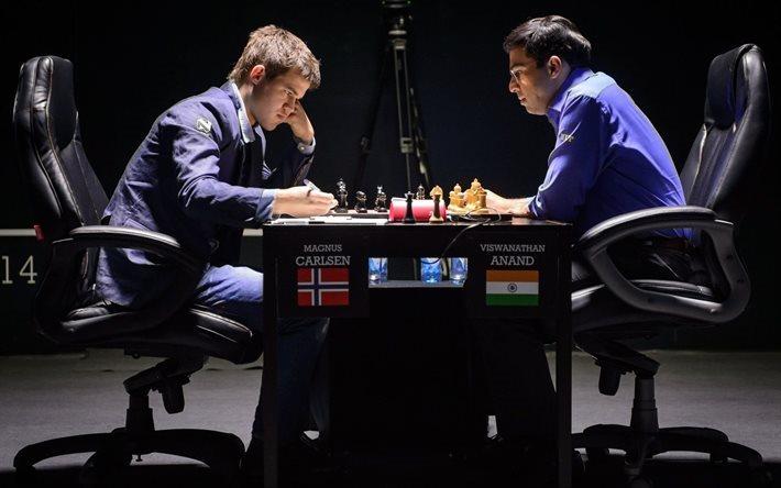 Indischer Schachspieler