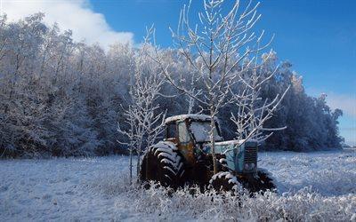 herunterladen hintergrundbild winter feld traktor f r desktop kostenlos hintergrundbilder f r. Black Bedroom Furniture Sets. Home Design Ideas