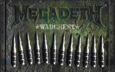 2007, box set, warchest, thrash metal, megadeth, heavy metal