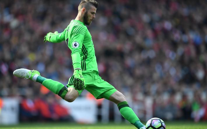 Download Wallpapers David De Gea Football Goalkeeper Manchester