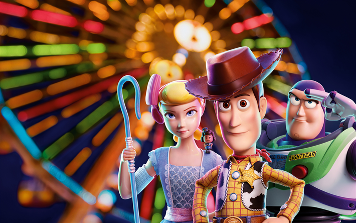Download Wallpapers Toy Story 4 2019 Poster Promo Main