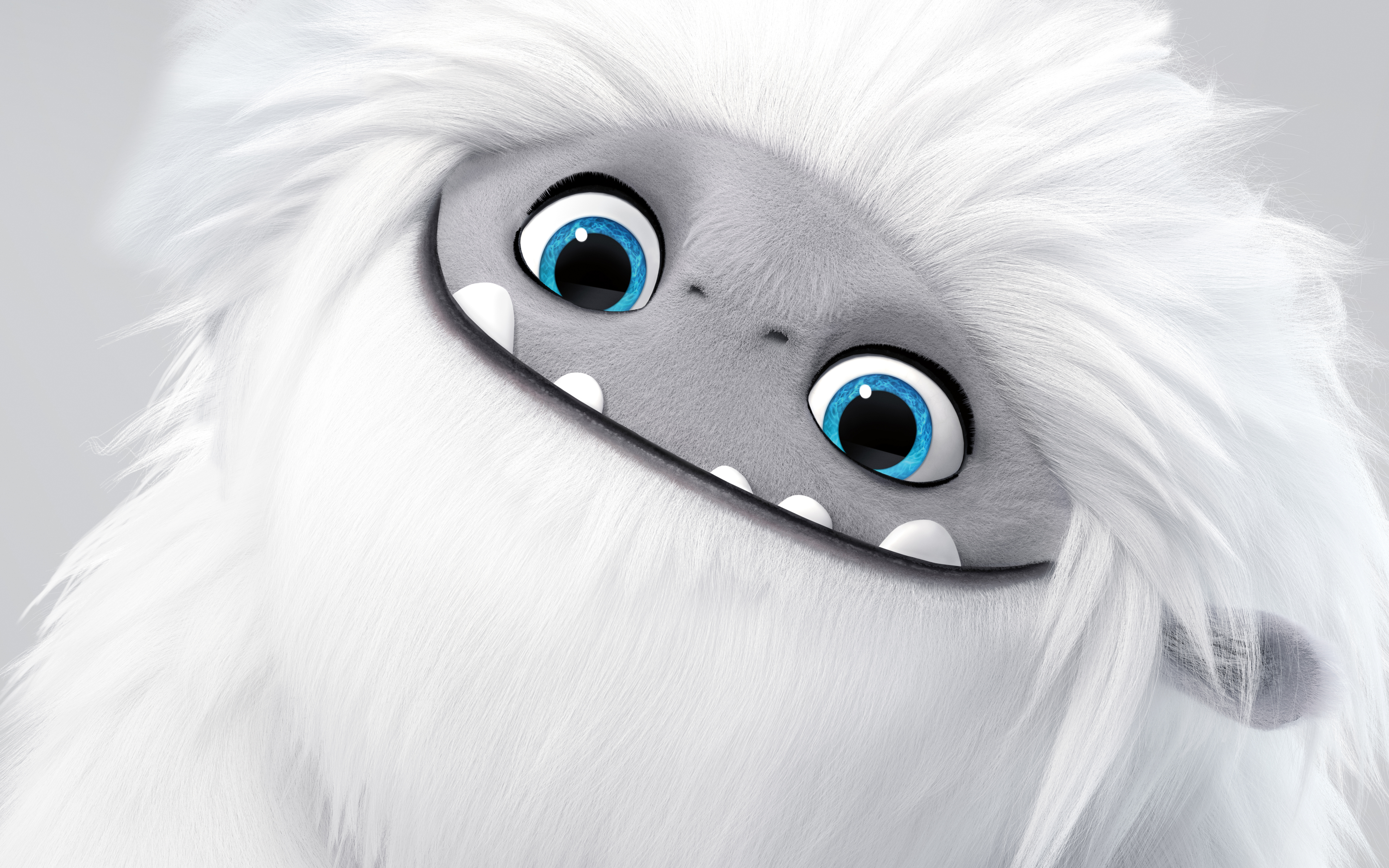 4k, Abominable, funny monster, poster, 2019 movie, 3D-animation, fan art, 2019 Abominable