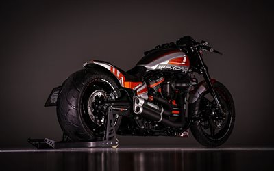 Harley-Davidson FXDR, 2019, Custom motorcycle, Thunderbike, FXDRR, motorcycle tuning, american motorcycles, Harley-Davidson