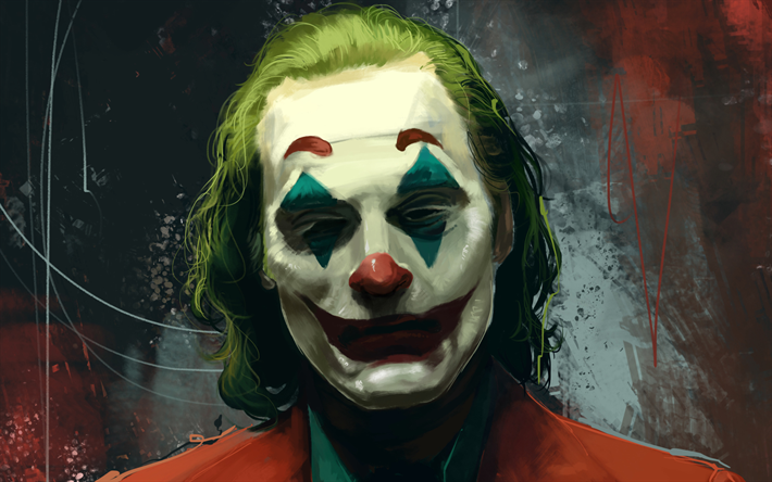 Telecharger Fonds D Ecran 4k Le Joker Fan Art 2019 Film