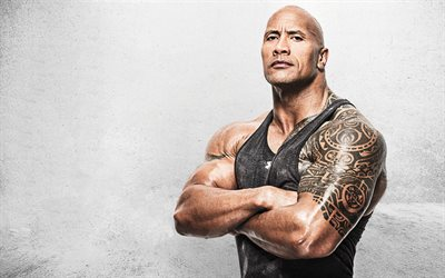 Dwayne Johnson, The Rock, american wrestler, photoshoot, american actor, hollywood star