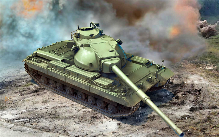 FV 214 Conqueror, british heavy tank, old tanks, armored vehicles