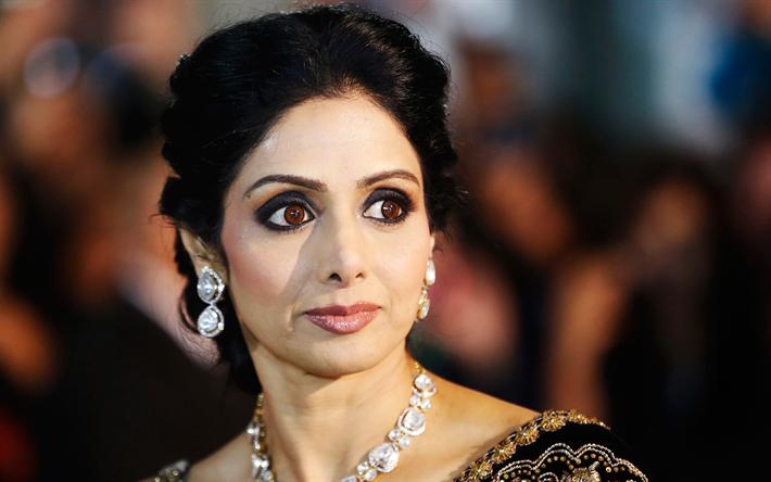 Download Wallpapers Sridevi Indian Actress 4k Producer Beautiful