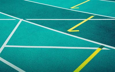 running track, starting line, athletics, running stadium