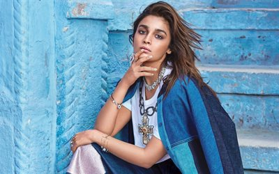 Alia Bhatt, beauty, indian actress, brunette, models, Bollywood