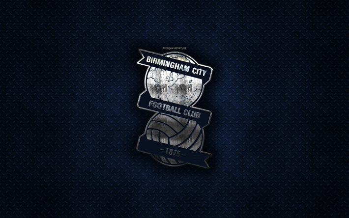 Download wallpapers Birmingham City FC, English football