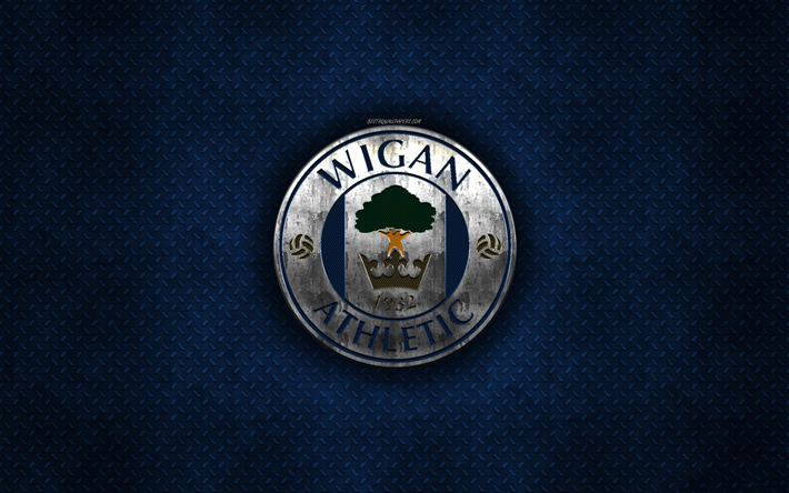 Download Wallpapers Wigan Athletic FC, English Football