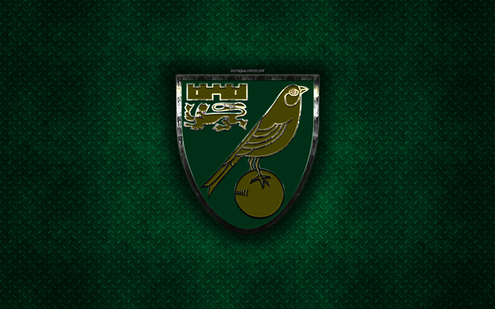 Download Wallpapers Norwich City FC, English Football Club