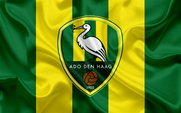 download wallpapers ado den haag 4k dutch football club