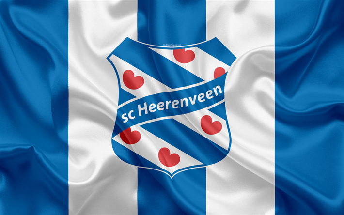 download wallpapers sc heerenveen 4k dutch football club