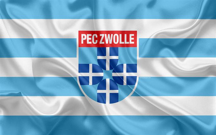 Descargar fondos de pantalla PEC Zwolle, 4K, Holandesa de ...