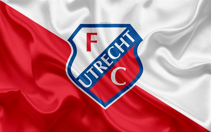 Download wallpapers Utrecht FC, 4k, Dutch football club