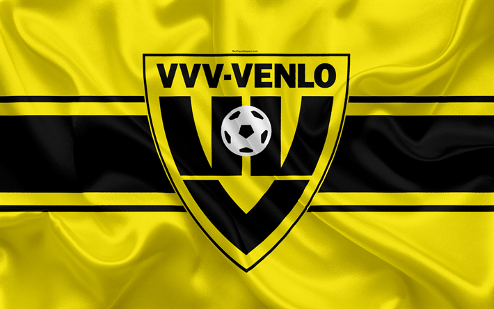download wallpapers vvv venlo 4k dutch football club