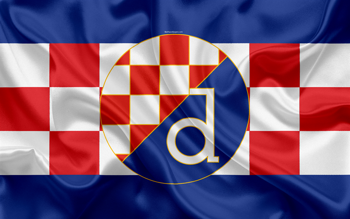 Download Wallpapers Dinamo Zagreb Fc 4k Croatian Football