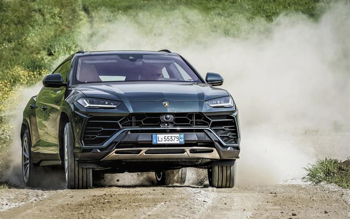 Download Wallpapers Lamborghini Urus 2018 Sports Suv New Gray