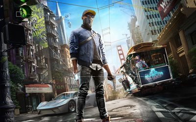 Watch Dogs 2, 2016, computer game, action