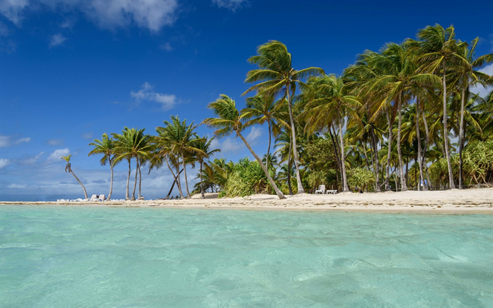 Tropical Island Beach Ambience Sound: Download Wallpapers Tropical Island, Beach, Sea, Waves