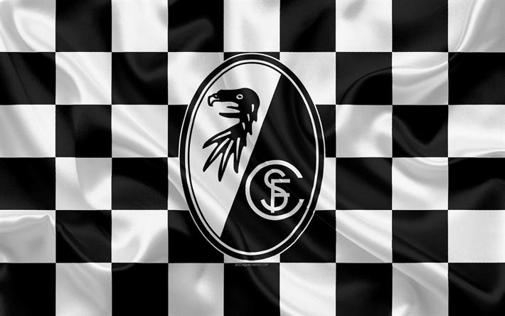 Download Imagens O Sc Freiburg 4k Logo Arte Criativa