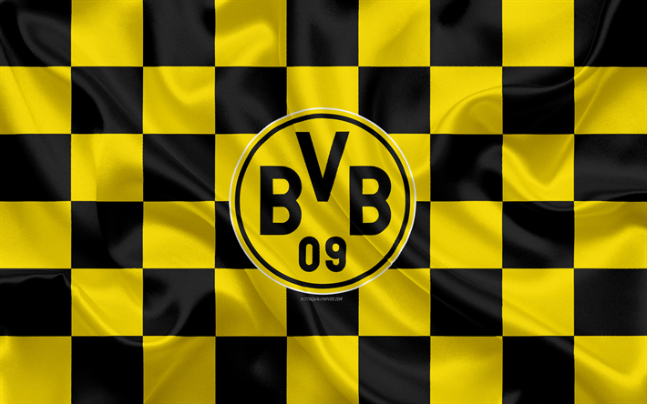 Download Wallpapers Borussia Dortmund Bvb 4k Logo Creative Art