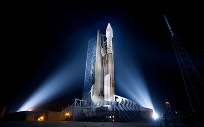 carrier rocket, Atlas V 431, Launch vehicle, USA, Spaceport