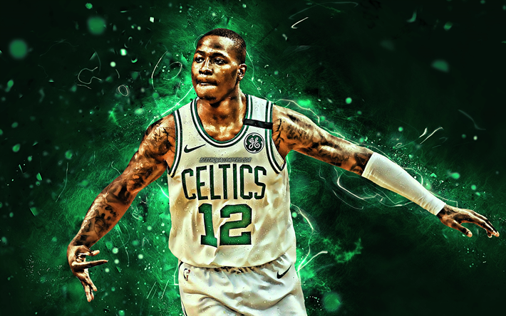Download Wallpapers Terry Rozier White Uniform