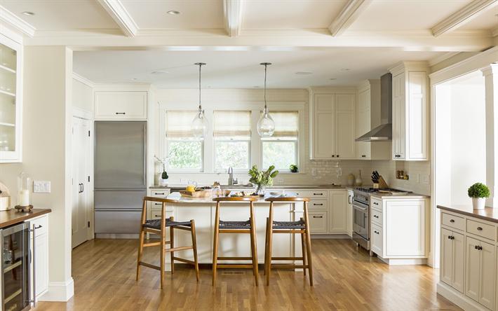 Scarica sfondi eleganti interni per la cucina, in stile italiano ...