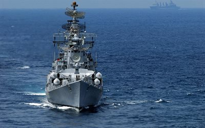 INS Rana, D52, Indian destroyer, project 61-ME, Indian Navy, Indian warship, Kashin-II class, Rajput-class destroyer