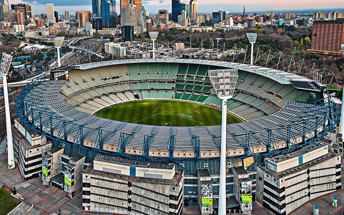Download wallpapers Melbourne Cricket Ground, Australian Stadium, Cricket  Stadium, Football Stadium, Melbourne, Australia, Stadiums for desktop free.  Pictures for desktop free