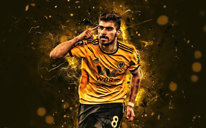 Download Wallpapers Ruben Neves Goal Wolverhampton