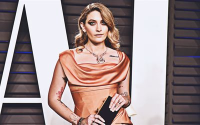 4k, Paris Jackson, 2019, Hollywood, W Magazine photoshoot, american celebrity, beauty, portrait, american actress, young actress, Paris Jackson photoshoot
