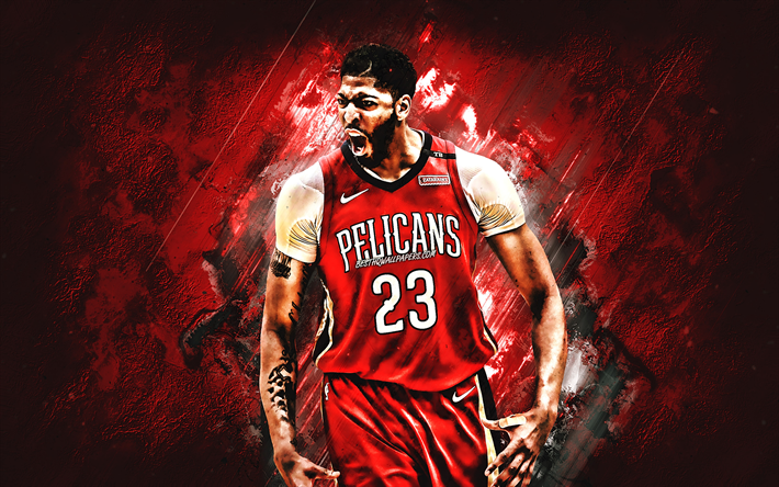 Download Wallpapers Anthony Davis American Basketball