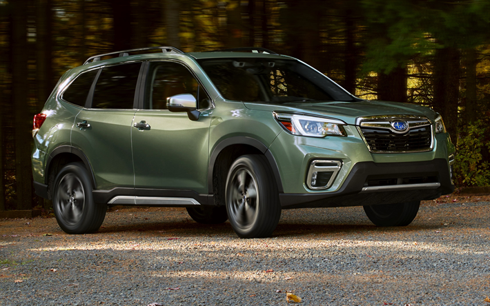 Download Wallpapers Subaru Forester 4k Offroad 2019 Cars Forest Green Forester Motion Blur Suvs Subaru For Desktop Free Pictures For Desktop Free