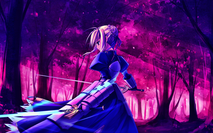 Download Wallpapers Saber Fate Stay Night Sword Warrior