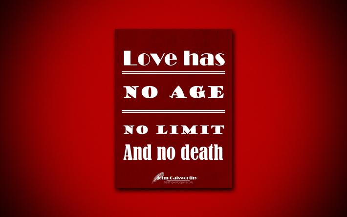 Download Wallpapers 4k Love Has No Age No Limit And No Death