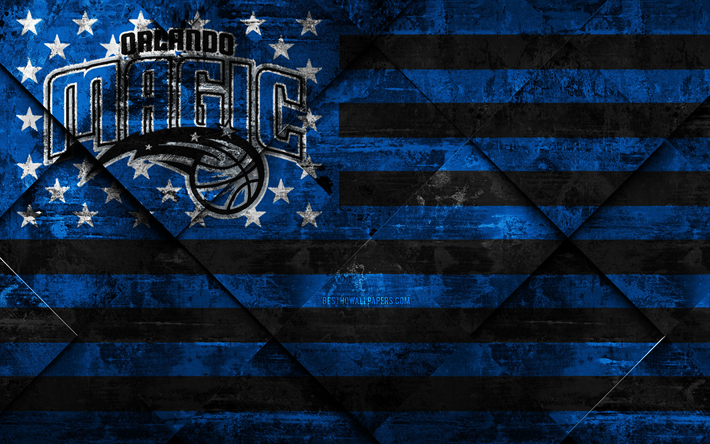 Download Wallpapers Orlando Magic 4k American Basketball