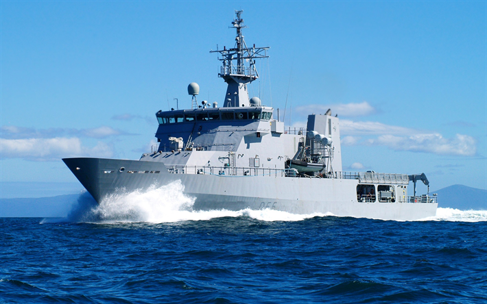 HMNZS Wellington, P55, Royal New Zealand Navy, Protector-class, patrol ship, warships, New Zealand