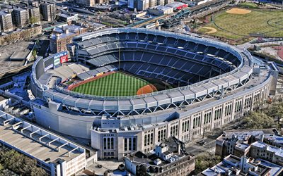 Yankee Stadium, MLB, New York City, New York Yankees stadium, baseball park, Major League Baseball, baseball stadium, New York, USA