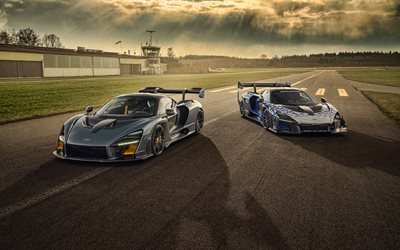 Novitec, McLaren Senna, 2020, racing cars, tuning Senna, hypercars, race track, British sports cars, McLaren