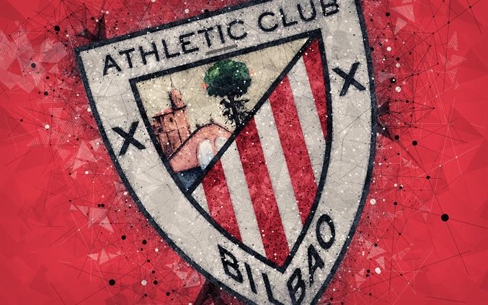 Download wallpapers Athletic Bilbao FC, 4k, creative logo ...